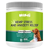 NATURAL CALMING W/ ORGANIC HEMP - ZPAW's tasty calming treats support calmness and composure in pets during stressful situations, they are formulated with a combination of calming agents, including passionflower, chamomile, L-Tryptophan, valerian roo...
