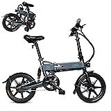 FIIDO Ebike, Bicicleta eléctrica Plegable Bicicleta de Velocidad Variable, Bicicleta de Ciudad Velocidad máxi (D2G)