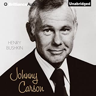Johnny Carson audiobook cover art