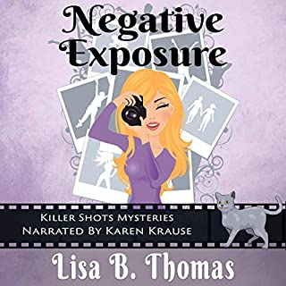 Negative Exposure audiobook cover art