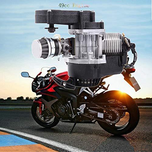 Sange 49cc 2 Takt Motor mit Vergaser für Motorrad Pocket Bike Mini Bike Quads Cross Bike