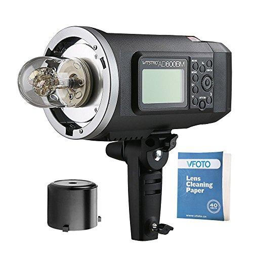 Godox AD600BM Falsh 600Ws Bowens Mount Outdoor Flash con 2.4G Inalámbrico X Sistema Compatible para Nikon Canon Sony Fujifilm Panasonic Olympus Camara(AD600BM)