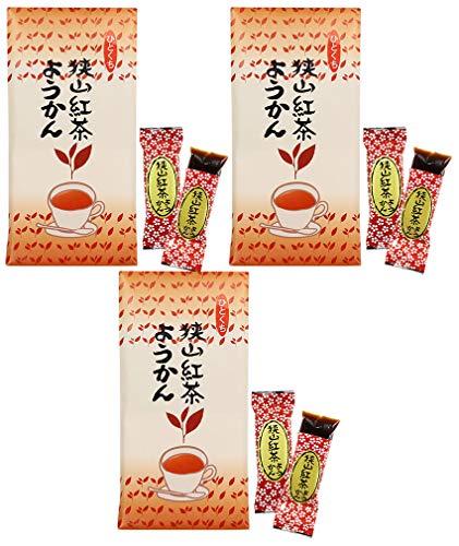 mita 紅茶ようかん 8個入 / 袋 × 3セット ( 紅茶羊羹 ) ひとくちようかん ・ 一口ようかん ミニようかん