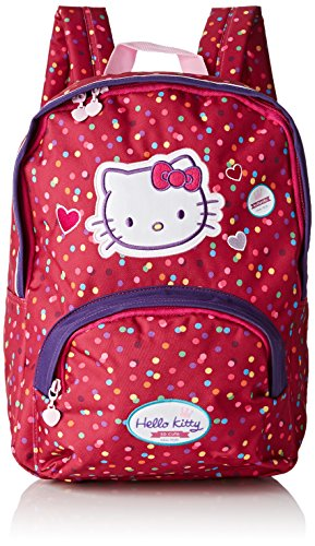 Hello Kitty Sac à Dos Loisir, 37 cm, Rose (Framboise)