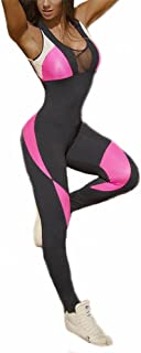 Tight Yoga Bodysuit Sleevesless Backless Sexy Hollow Out Fitness Jumpsuit UPS Post