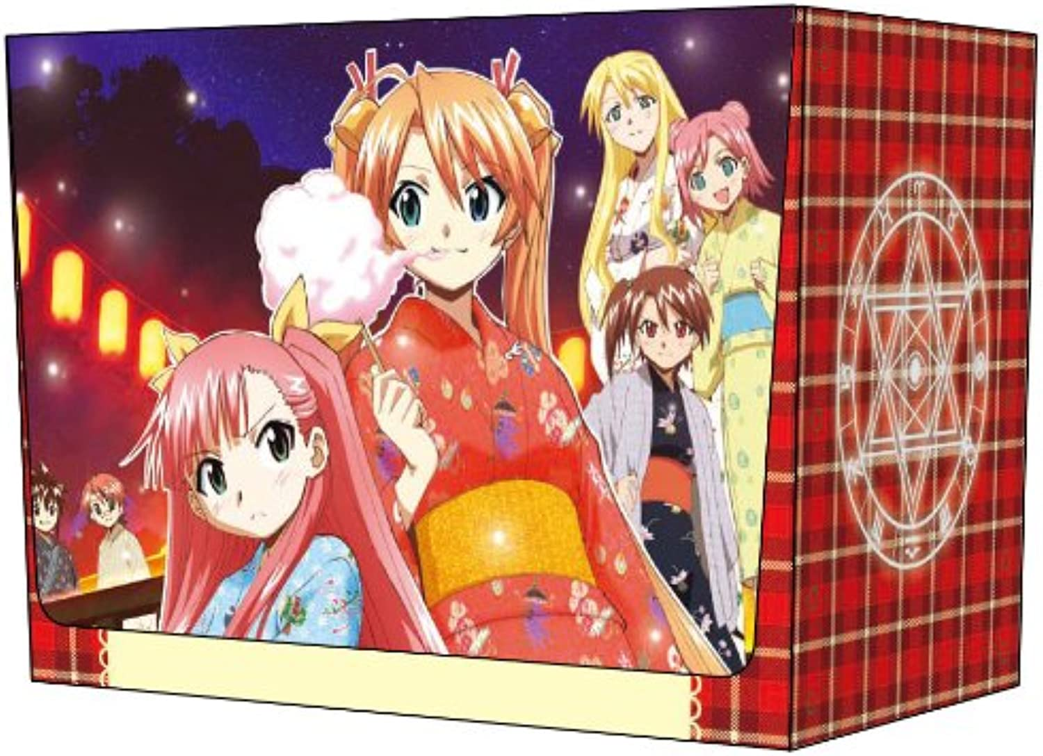 Character Deck Case Collection MAX theater version Negima  ANIME FINAL