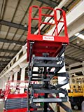 Hire-it 18 Meter Self Propelled Scissor Lift - Battery Powered - Movable
