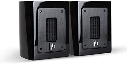 Aperion Audio Planar-Ribbon Super Tweeter Pair for Home Theater Stereo Speaker HiFi Audiophile Ultra High-End Frequency Response up to 33kHz (Gloss Black)