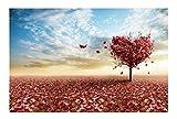 Black Temptation Puzzle de Rompecabezas del árbol de Amor de 1000 PC para los Adultos y los niños