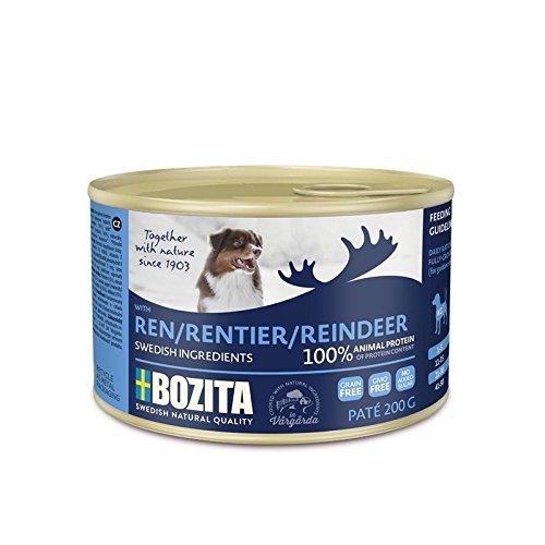 Bozita Dog Paté Rentier | 20x 200g Hundefutter nass