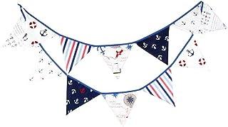 comprar comparacion G2PLUS 3M banderines,Guirnalda de banderines con 12 banderines,para dormitorio de fiesta de cumpleaños o decoración de bod...