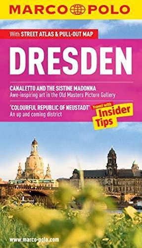 MARCO POLO Reiseführer Dresden, englisch: Reisen mit Insider-Tipps. Mit EXTRA Faltkarte & Cityatlas