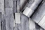 Carta da parati 3D, carta da parati effetto pietra, carta da parati effetto pietra, carta da parati autoadesiva, stile vintage, marmo e pietra