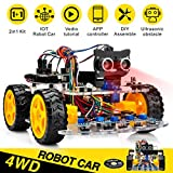 OSOYOO Robot Car Starter Kit for Arduino UNO | STEM Remote Control App...