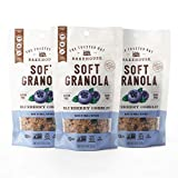 Contains: 3 - 10oz blueberry cobbler soft granola Made with hand-crafted brown sugar, Madagascar vanilla and Saigon cinnamon Soft and chewy texture, tastes like a delicious crumbled cookie Small batch, oven-baked from scratch, whole ingredient goodne...