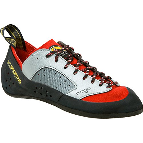 La Sportiva Nago Rock Shoe - Mens Climbing shoes 45 Red