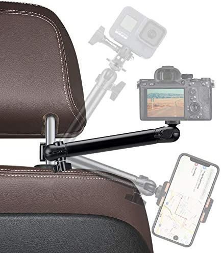 Action Camera Motion Camcorder Smartphone Car Headrest Mount Vehicle Cab Driver FPV Video Holder product image