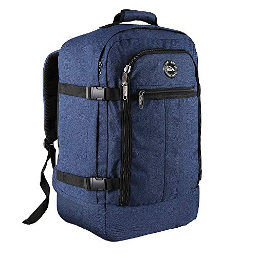 Cabin Max Metz Travel Backpack| Hand Luggage Flight Bags Cabin Bags 55 x 40 x 20 (Atlantic Blue)