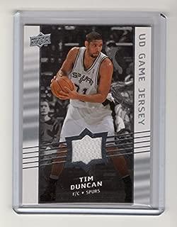 2008-09 Upper Deck Game Jerseys #GATD Tim Duncan Team: San Antonio Spurs