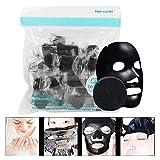 50 unidades por bolsa, mascarilla desechable comprimida no tejida, mascarilla comprimida para papel facial de bricolaje para el cuidado de la piel, mascarilla facial comprimida, mascarilla facial par