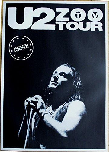 U2 Poster Nr. 3 Format 62 x 86 cm Original von 1993