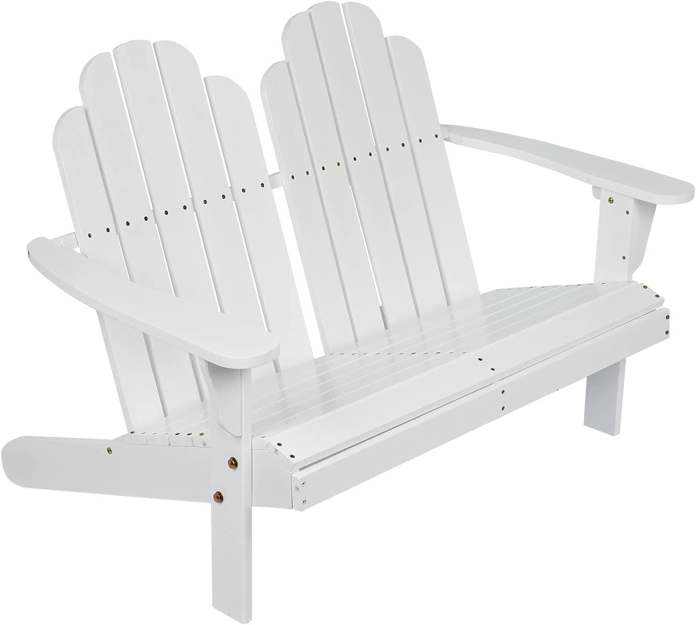 Double Outside Deluxe Bench Oakland Mall - Outdoor Recliner Patio Loveseat G