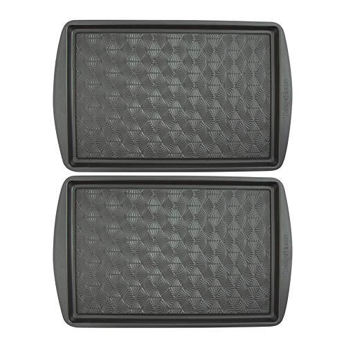 Range Kleen Taste of Home 15×10-Inch Non-Stick Metal Baking Sheet (Twin Pack) Bundle (2 Items)