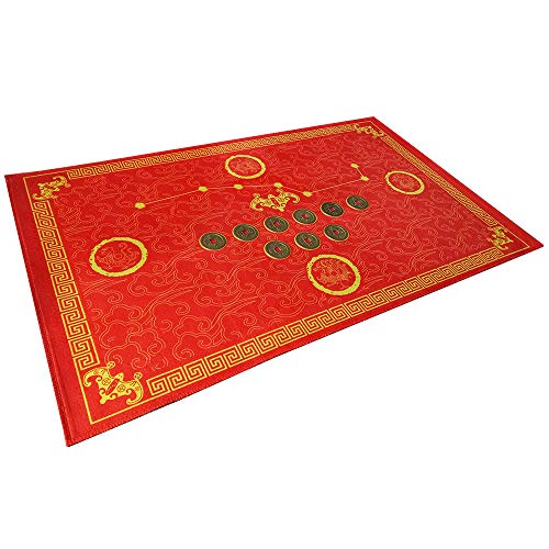 Feng Shui Good Luck Door Mat/Outdoor/Front...