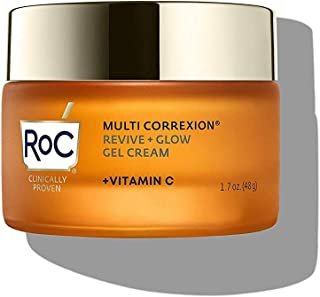 Sponsored Ad - RoC Multi Correxion Revive + Glow Vitamin C Moisturizer for Face, 1.7 Ounce Gel Cream