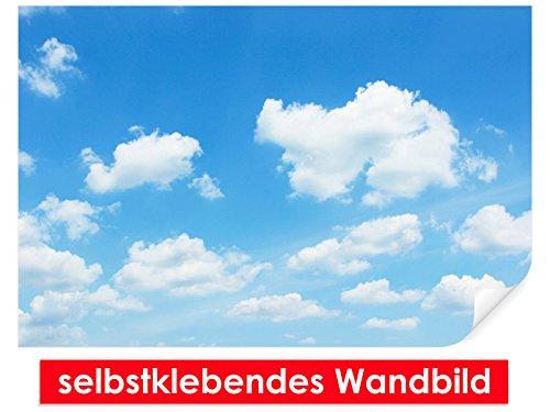 XXL-Tapeten selbstklebendes Wandbild Cloudy Day – leicht zu verkleben – Wallprint, Wallpaper, Poster, Vinylfolie mit Punktkleber für Wände, Türen, Möbel und alle glatten Oberflächen von Trendwände