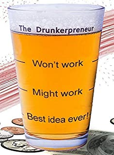 Funny Brainstorming Glass -
