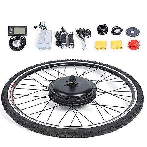 "WUPYI2018 Elektro-Fahrrad Kit, 28\"" 36V E-Bike Hinterrad Umbausatz Kit Elektrofahrrad Vorderrad E-Bike Umbausatz Frontmotor Conversion Kit (800W Mit LCD)"