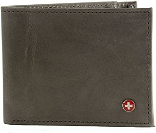 Mens Genuine Leather Thin Slimfold Wallet