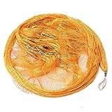 WYDMBH Red de Pesca 2.2 x 2.2m Nylon Monofilament Pescish Net para Tackle de Pesca de fundición a Mano