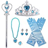 Delicate Accessories: High Quality princess dress-up accessories set, good for serving as wonderful accessories to make you look more adorable and beautiful. Gift: Princess Accessories is perfect to be a Birthday present for your baby girl! Let her t...