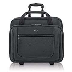 Laptop Bag For Commute & Business: The Solo bryant rolling laptop bag features a padded laptop compartment with a secure strap that can protect up to a 17.3 inch Laptop; The easy glide wheels and loads of storage space make it perfect for travel Orga...