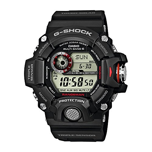 Casio Herren Digital Solarbetrieben mit Resin Armbanduhr GW94001ER