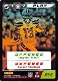2019 Panini NFL Five Football #U125-19 Play Odell Beckham Jr. Official CCG Collectible Trading Card Game From Panini America