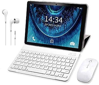 Tablet 10 Pulgadas Buenas Android 9.0 Pie Tableta 4G RAM 3GB+ROM 32 GB/128 GB, 8500mAh Quad-Core Dual SIM Buenas Tabletas de función de Llamada/WiFi Tablet PC 10