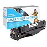 USA Advantage Compatible Toner Cartridge Replacement for HP 131A / CF210A (Black,1 Pack)