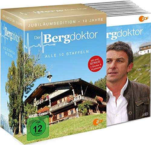 10 Jahre Der Bergdoktor - Jubiläumsedition [30 DVDs im Schuber]