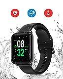 Smart Watch, BlitzWolf IP68 Waterproof Fitness Trackers, 1.3 inch HD Screen Activity Trackers