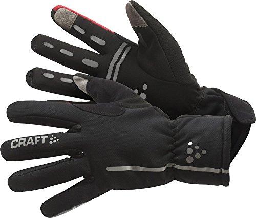 Craft Sportswear Siberian Wind & Waterproof Bike & Cycling Gloves,Black/Bright,X-Large