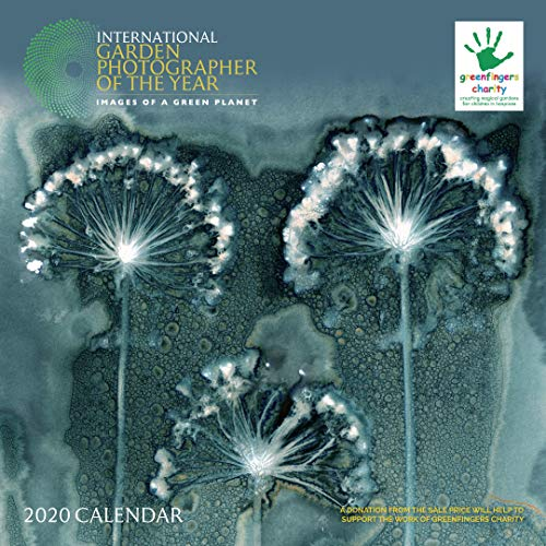 Greenfingers Charity Garden Photographer of the Year 2020 Square Wall Calendar