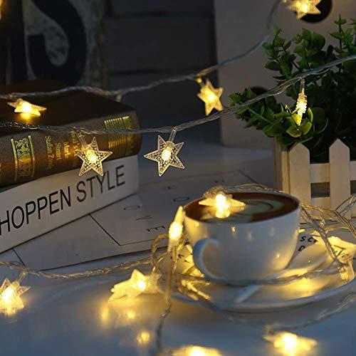 MAYKO Lichtsnoer met 100 leds, warmwit bal, lichten, led, waterdicht, feestthema's, Kerstmis, terras, kinderkamer, nachtlampje, wandgordijn, decoratie, binnen en buiten (plug)