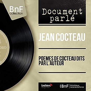 Poèmes de Cocteau dits par l'auteur (Mono Version)