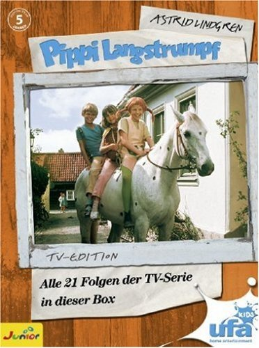 Pippi Langstrumpf - TV-Serien-Box (5 DVDs)