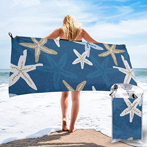 CHUNXU Toalla de playa de secado rápido, diseño de...