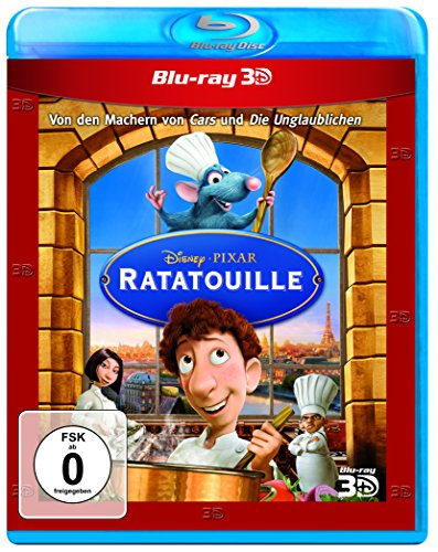 Ratatouille (+ Blu-ray 2D) [Blu-ray 3D]
