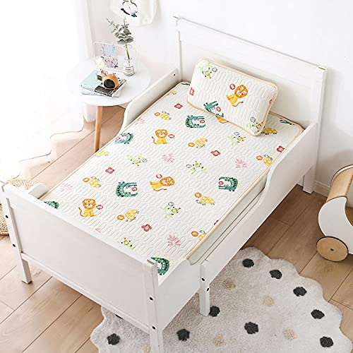 doudouJF cooling blanket for night sweats,Summer children's bed latex mat, baby, noon, two- air-conditioned room ice silk soft mat-Two- _70 * 150